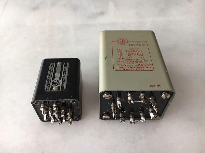 Used UREI UTC A-24 Output Transformer for Teletronix UREI UA LA-2A,Gray//Red UE