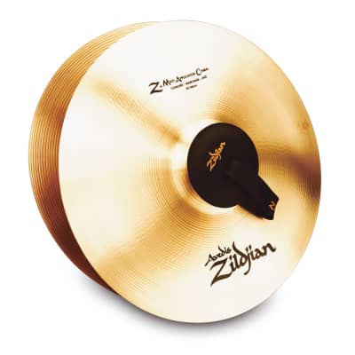 "18"" A ZILDJIAN Z-MAC W/GROMETS - PAIR Cymbal A0477"