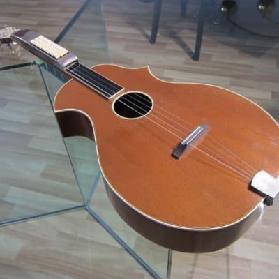 1930s 1940s Kay made Key Kord 21 Auto Chord Two Point Solid Mahogany Mandola Mandolin Nice Original for sale
