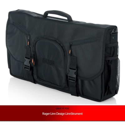 """Gator Cases 25"""" Messenger Bag  for Roger Linn Design LinnStrument"""
