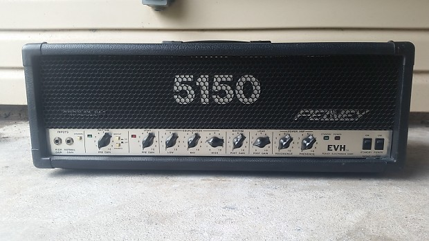 original peavey 5150 evh eddie van halen block head amplifier reverb. Black Bedroom Furniture Sets. Home Design Ideas