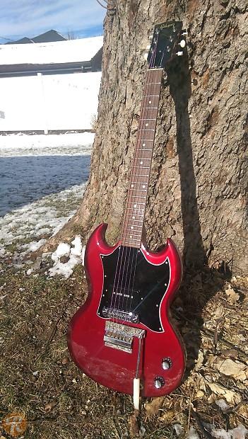 Gibson SG Junior Cherry