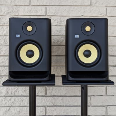 "KRK RP5 G4 5"" 55W Powered Near-Field Studio Monitor (Single)"