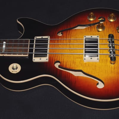 GIBSON ES-LP BASS - FADED DARKBURST - SEMI-HOLLOWBODY, SHORT SCALE - NEW/UNPLAYED! for sale
