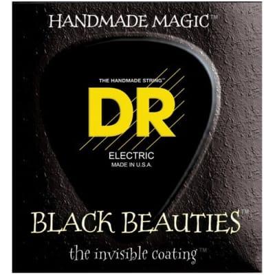 DR BKB545 Black Beauties 5-String Electric Bass Strings - Medium (45-125)