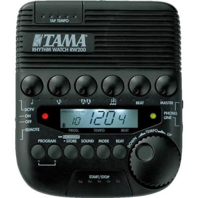Tama RW200 Rhythm Watch Metronome for Drummer for sale
