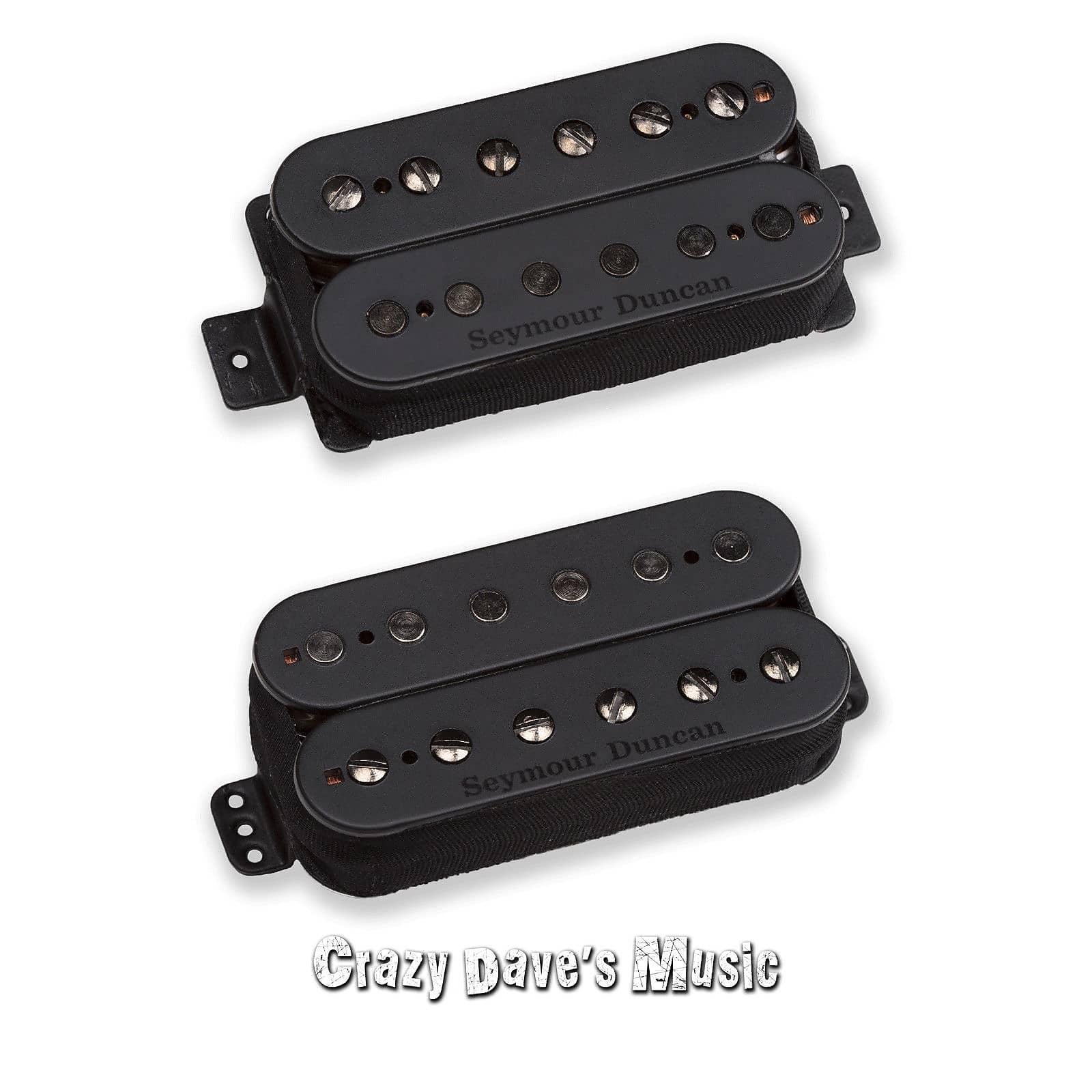 Seymour Duncan Nazgul Bridge /& Sentient Neck 6-String Metal Guitar Humbucker Set