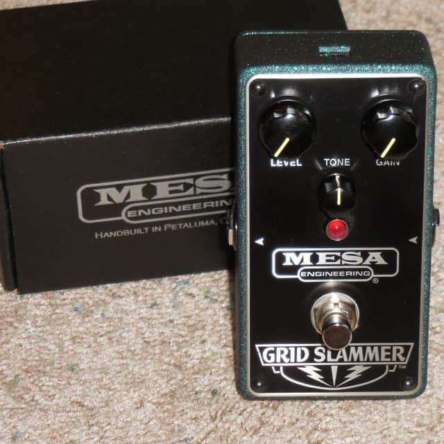 Mesa Boogie Grid Slammer tubescreamer type overdrive pedal image