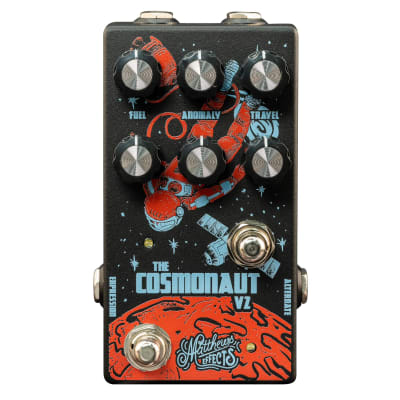 New Matthew Effects Cosmonaut V2 Delay and Reverb Pedal!