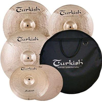 Turkish Moderate Cymbal Pack Box Set (14HH-16/18CR-20R) M-SET-1