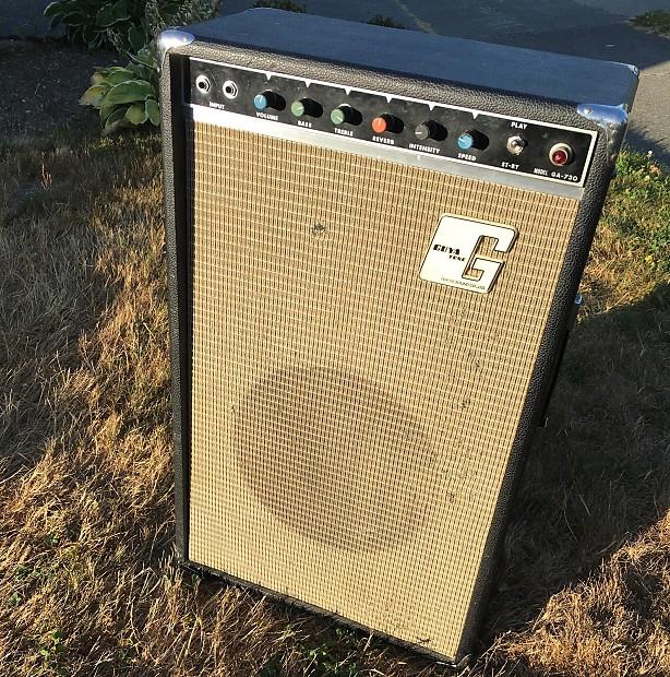 guyatone ga 730 hand wired 1960s tube guitar amp reverb. Black Bedroom Furniture Sets. Home Design Ideas