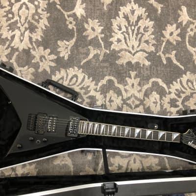 Jackson USA RR1 Randy Rhoads Black 2018 Floyd Rose excellent guitar w/flight case. for sale