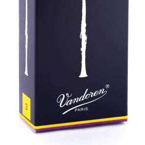 Vandoren CR103 Traditional Bb Clarinet Reeds - Strength 3 (Box of 10)