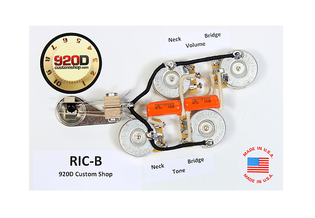 Duncan SRB-1 Pickup Set for Rickenbacker Bass Guitar + 920D | Reverb