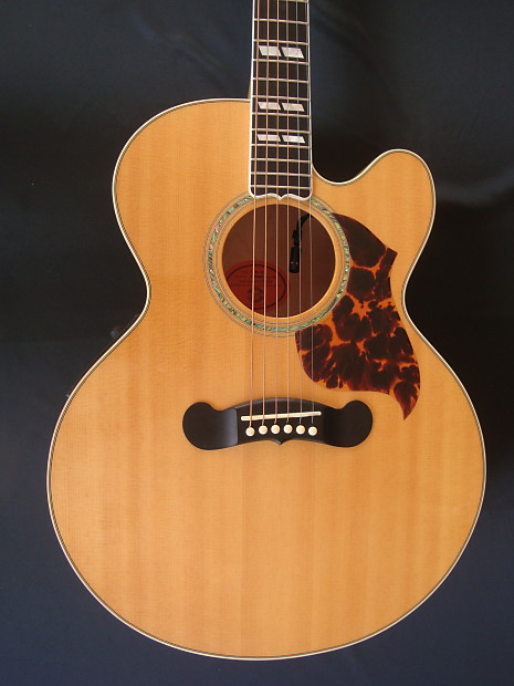gibson j185 ec 1999 natural blonde j 185 ec blues king reverb. Black Bedroom Furniture Sets. Home Design Ideas