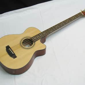 Indiana Scout acoustic electric 4-string bass guitar for sale