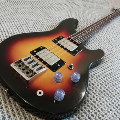 Jolana Superstar bass 1990 (?) 2 Color Sunburst for sale