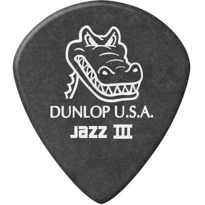 Dunlop 571R140 Gator Grip Jazz III 1.4mm Guitar Picks (36-Pack)