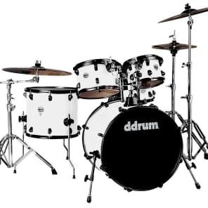 """ddrum J2P-522-WHT Journeyman Player 5pc Drum Kit (7x10/8x12/14x16/18x22/7x13"""")"""