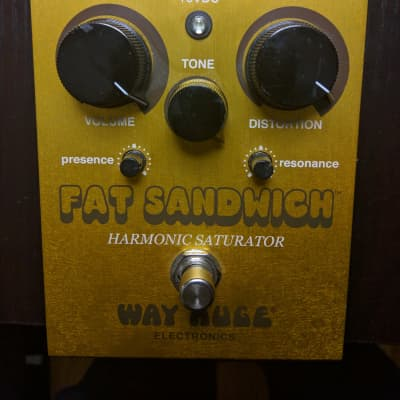 Way Huge Fat Sandwich Distortion/Harmonic Saturator 2010s Gold
