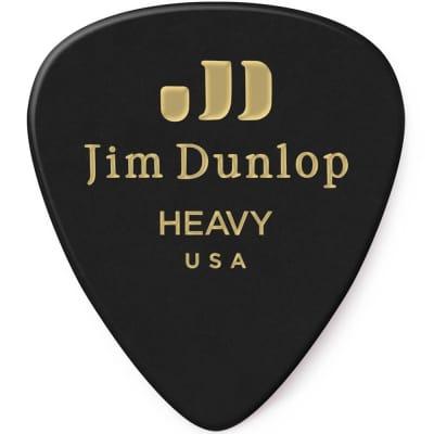 Dunlop 483R03HV Celluloid Standard Classics Heavy Guitar Picks (72-Pack)