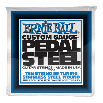 Ernie Ball E9 Pedal Steel Strings