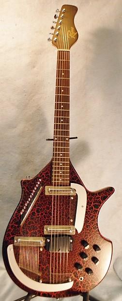 rogue electric sitar guitar str 1 pro w yamaha case reverb. Black Bedroom Furniture Sets. Home Design Ideas