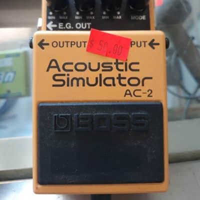 Boss AC-2 Acoustic Simulator