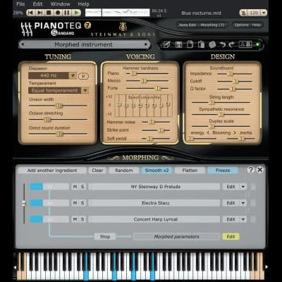 MODARTT Pianoteq 7 Standard Edition Virtual Instrument Software (Download)