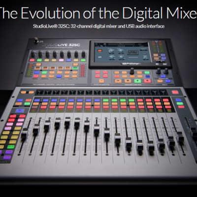 PreSonus StudioLive 32SX Series III Digital Mixer 2020 Black / Silver