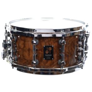 "Sonor One Of A Kind Series Pacific Walnut Burl Veneer 14x7"" Beech Snare Drum 2016"