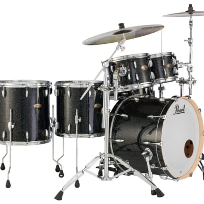 """STS2014BX/C316 Pearl Session Studio Select 20""""x14"""" Bass Drum BLACK HALO GLITTER"""