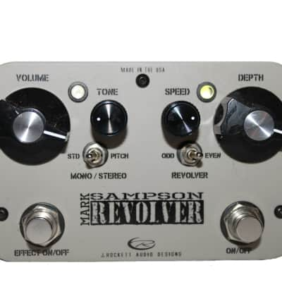 J.Rockett Mark Sampson Revolver Overdrive and Tremolo