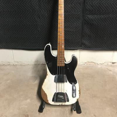 Fender Fender Custom Shop '51 Roasted Precision Bass 2017 Aged Vintage White for sale