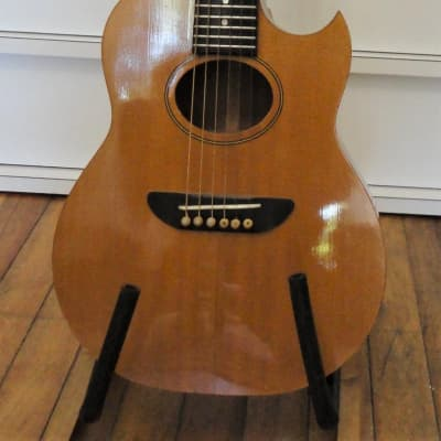 Earthwood Baby Guitar G130 c1980 natural for sale