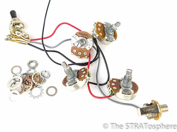 Gibson Epiphone G-310 SG Pots Wiring & 3 Way Switch | Reverb
