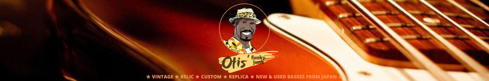 Otis' Funky Junk ★ Vintage Basses from Japan ★