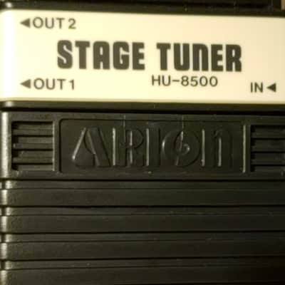 Arion HU-8500  Stage Tuner 1980's Black for sale