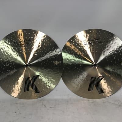 "Zildjian 14"" K Custom Dark Hi-Hat (Pair)"