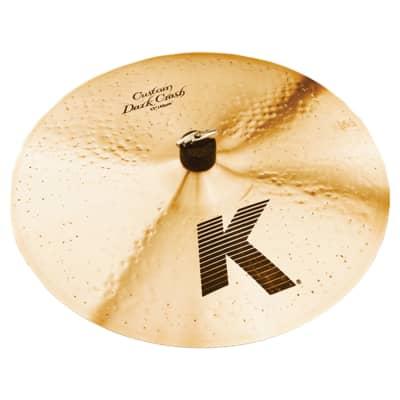 "Zildjian 17"" K Custom Dark Crash Cymbal"