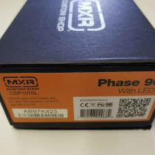 MXR PHASE 90 SCRIPT CUSTOM SHOP  CSP101SL 2017 ORANGE