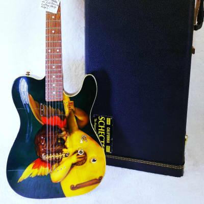 Schecter PT Custom Shop Electric Guitar with Original Hardshell Case, VINTAGE-1997 Schecter Guitar Catalog, page 20. for sale