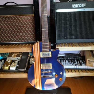 CMG Ashlee Stripey Transparent Blue for sale
