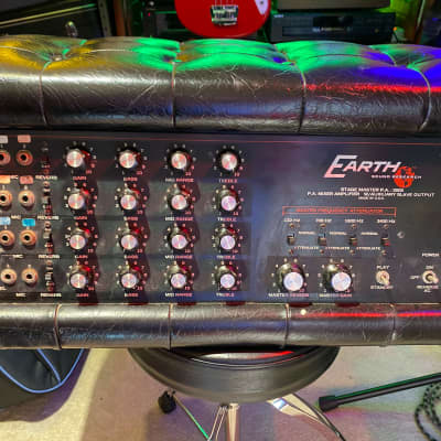 Earth Sound Research Stage Master PA 1970's Black Squishy for sale