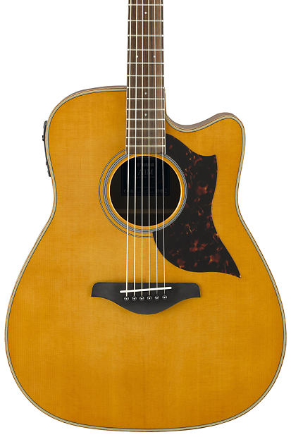 yamaha a1m folk cutaway acoustic electric guitar vintage reverb. Black Bedroom Furniture Sets. Home Design Ideas
