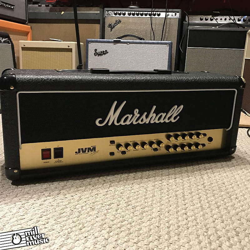 Marshall JVM205H 2-Channel 50W Guitar Amp Head w/ Footswitch