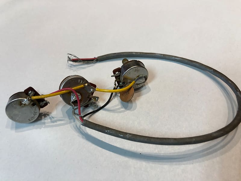 Astonishing Nos Factory Gibson Explorer Flying V Wiring Harness 1977 Reverb Wiring Digital Resources Funapmognl