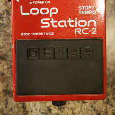 Boss RC-2 Loop Station W/ Power Supply