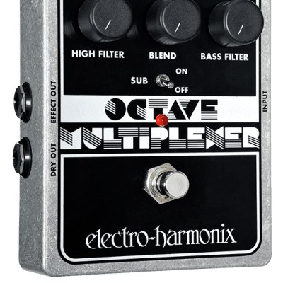 New Electro-Harmonix EHX Octave Multiplexer Analog Sub Generator Guitar Pedal