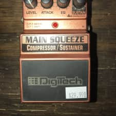 Used Digitech Main Squeeze Compressor/Sustainer Pedal